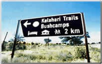 Kalahari Trails Bushcamps